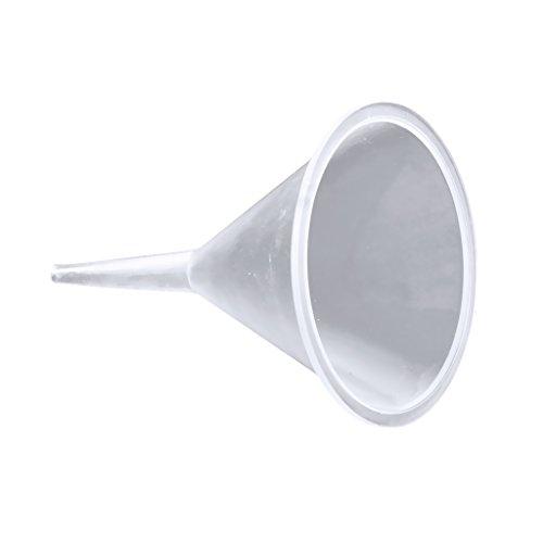 MagiDeal Pequeños Embudos de Plástico Difusor de Perfume Botella Mini Embudos de Aceite Líquido Laboratorio