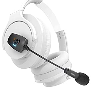 Antlion Audio ModMic Wireless Attachable Boom Microphone for Headphones - Compatible with Windows Mac Linux PS4/PS5 Any USB A Type Device  Renewed