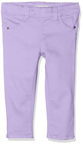 NAME IT Mädchen NMFPOLLY TWIBATINNA Capri Leggings, Violett (Lavendel Lavendula), (Herstellergröße: 110)