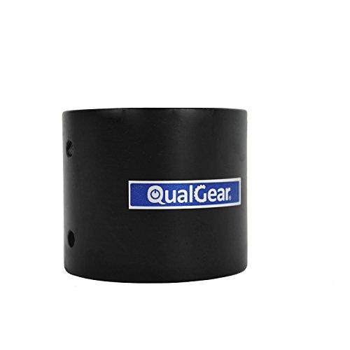 "QualGear QG-PRO-PM-PC-B Pro-AV 1.5"" Npt Threaded Pipe Connector Projector Accessory"