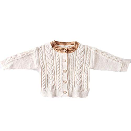 Baby Girl Jacket Autumn Cotton All-Match Knitted Hand-Made C
