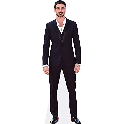 Celebrity Cutouts Michele Morrone (Suit) Pappaufsteller Mini