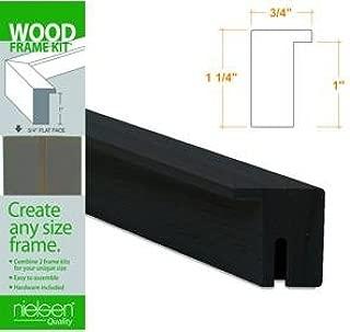 Nielsen Bainbridge Wood Frame Kits black 20 in.