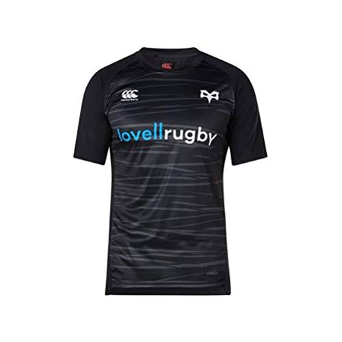 Canterbury 2018-2019 Ospreys Rugby Vapordri Superlight Tee (Anthracite)