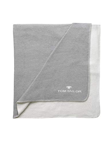 TOM TAILOR Unisex Heimtextilien & Bettware Wende-Decke Grey,150/200