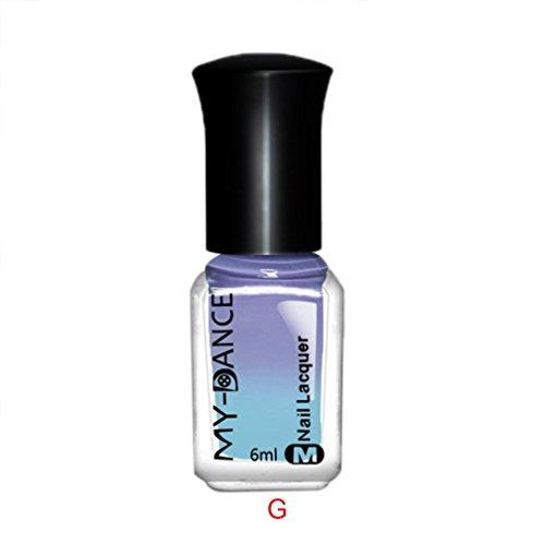 Chamäleon-Nagellack, verändert je nach Temperatur die Farbe, 6 ml
