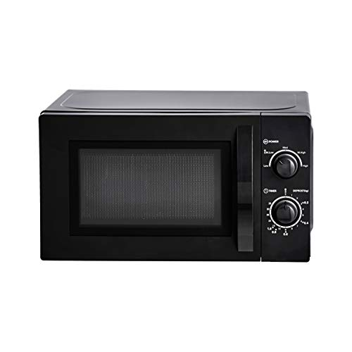 31Ceofnem3L. SS500  - Amazon Basics Solo Countertop Microwave, 20 L, 700W - Black