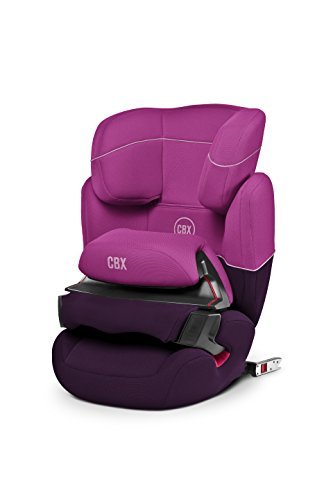 CBX by CYBEX Aura-fix, Autositz Gruppe 1/2/3 (9-36 kg), Kollektion 2015, Purple Rain