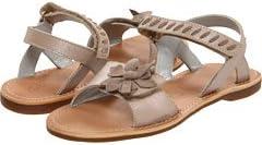 Aster Girl Vitesse Taupe Sandal EU 24 (US Toddler Girl Size 7M)