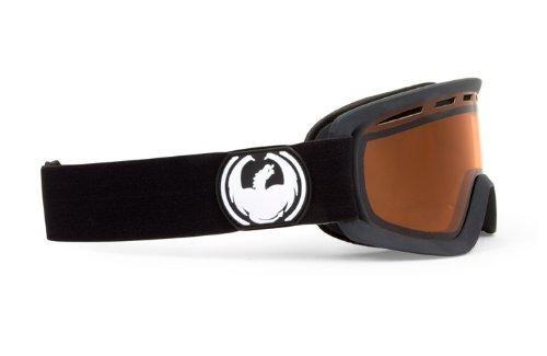 Dragon D2 - Gafas de ventisca para esquí Negro Coal Amber Talla:Medium