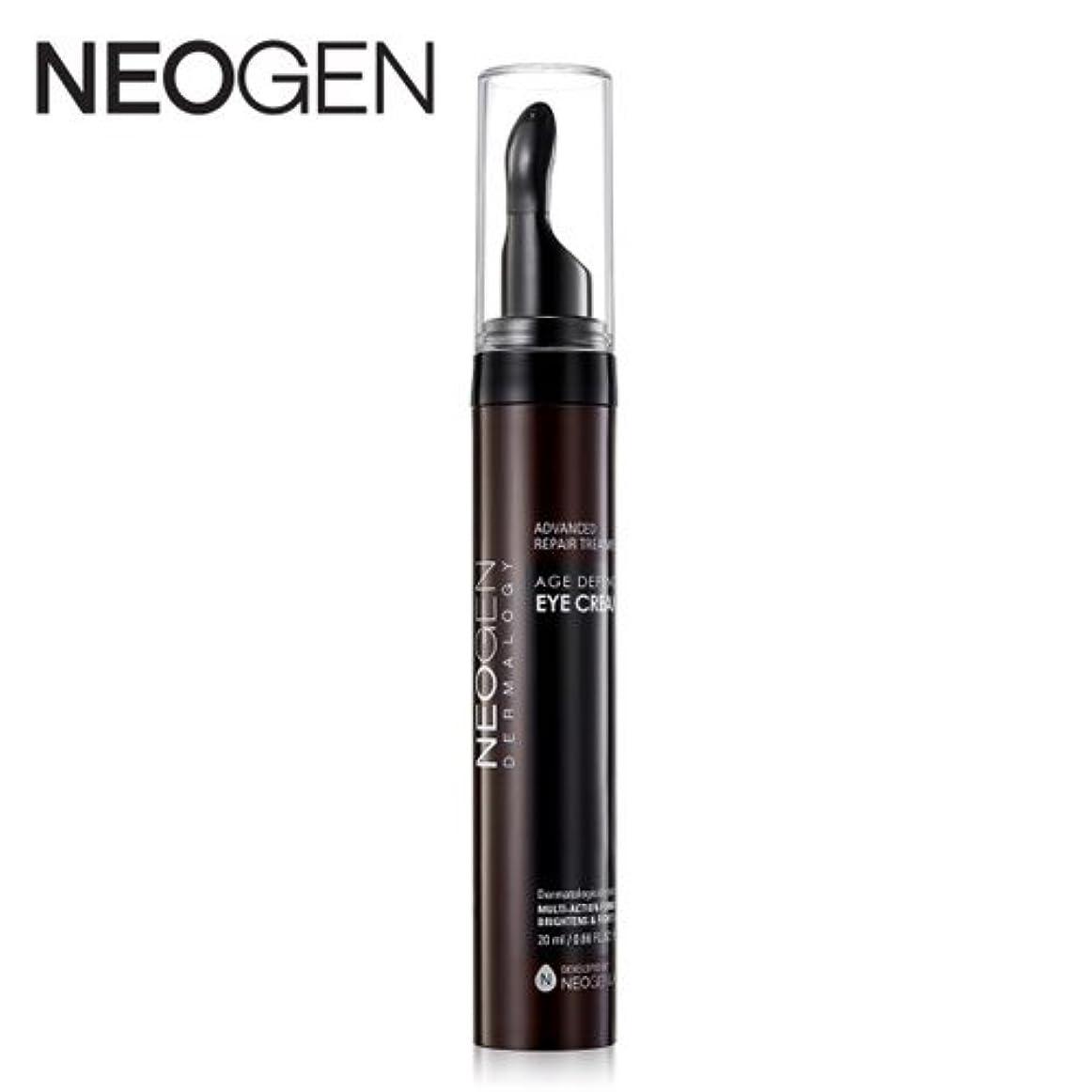 ダメージ周り無傷[OUTLET] NEOGEN Dermalogy Age Defence Eye Cream /ネオジェン ダーマロジーエイジディフェンスアイクリーム20ml [並行輸入品]