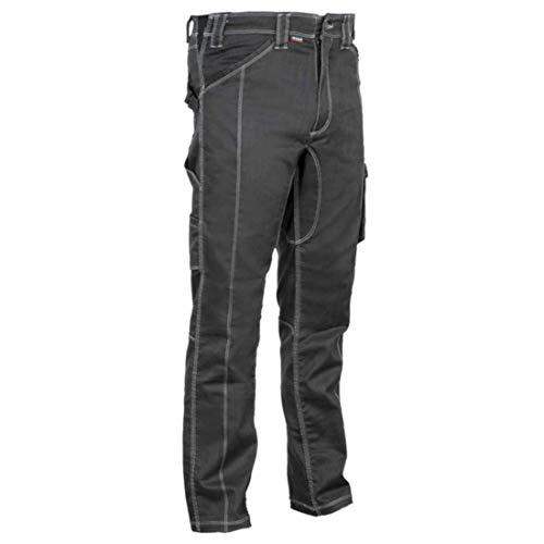 Cofra V471-0-05A.Z48 DOTHAN Hose, 63% Polyester, 35% Baumwolle, 2% Elasthan, 300G Anthrazit/Grau, Größe 48