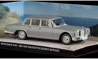 Ex Mag Mercedes Benz 600 Diecast Model Car from James Bond On Her Majesty`s Secret Service