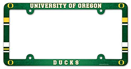 Wincraft Oregon Ducks Plastic License Plate Frame