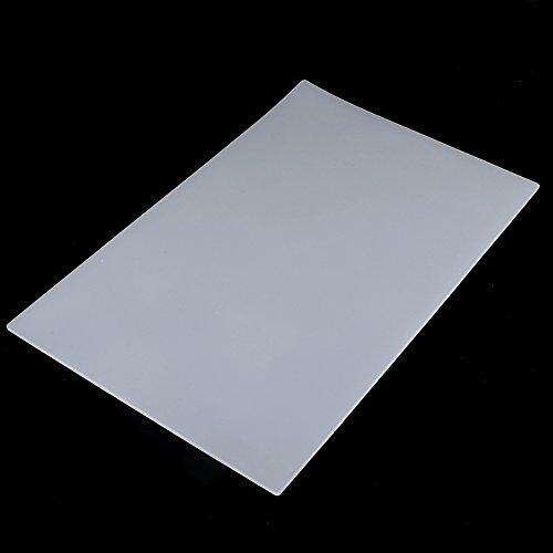 1pc Rutschfeste Transparente Hitzebeständige Silikonmatte, Silikon Schreibtisch Hitzebeständige Lötmatte Auflage Lötstation Reparatur 35 x 23 x 0,3cm