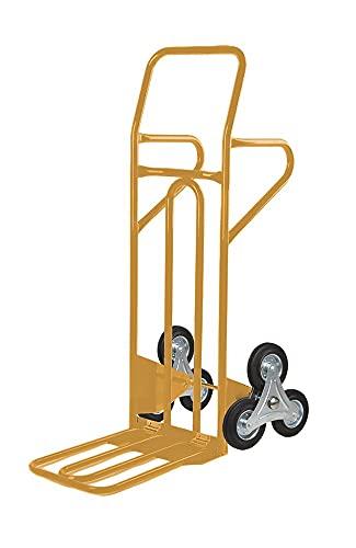Carrello Scale Saliscale in Acciaio Svelt Pedana Ribaltabile Portata 250kg 6 Ruote, 3 per parte