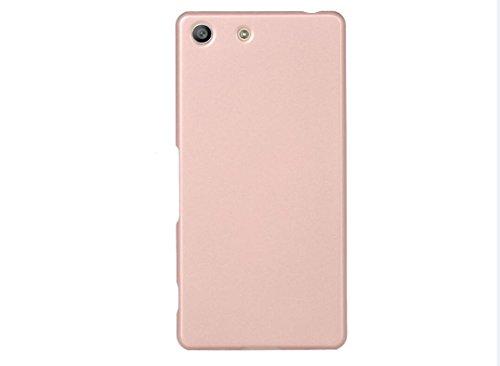 ARTILVST Sony Xperia M5 Funda,Ultra fino medio rodeó la estructura de superficie mate Durable PC Protector teléfono funda para Sony Xperia M5 Smartphone [oro rosa]