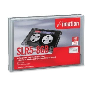 Imation 11864 SLR-5 Data Cartridge - SLRtape5 - 4 GB (Native) / 8 GB (Compressed) - 1500 ft Tape Length - 1 Pack - 11864
