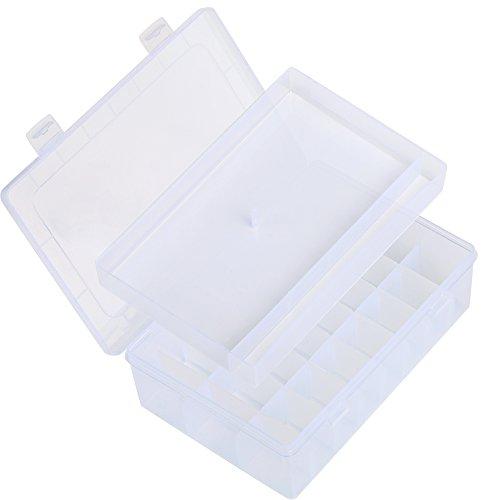 LIHAO Caja para Almacenar Snaps Plástico T5 y Alicates