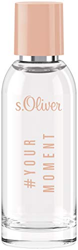 s.Oliver® Your Moment Women I Eau de Toilette - femininer, fruchtiger Duft zum Wohlfühlen I 50ml Natural Spray Vaporisateur