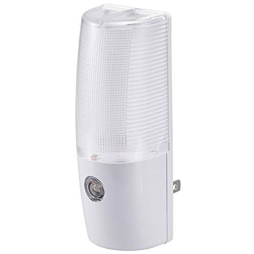 オーム電機 【光量自動調整】LEDナイトライト(明暗センサー付/白色) NIT-ALA6MCL-WN