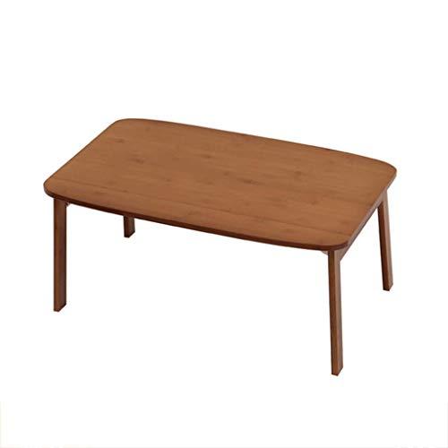 DBL Table pliante, Table d'ordinateur portable, Table de nuit, Bureau, Table à manger, Bureau, Multifonction, Canapé, Extérieur, Terrasse, Bambou Table pliable