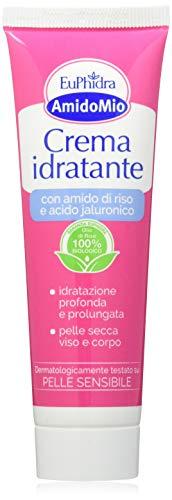 Amido Mio Crema Idratante - Amido di Riso e Acido Jauronico, Idratazione Profonda - 50 ml