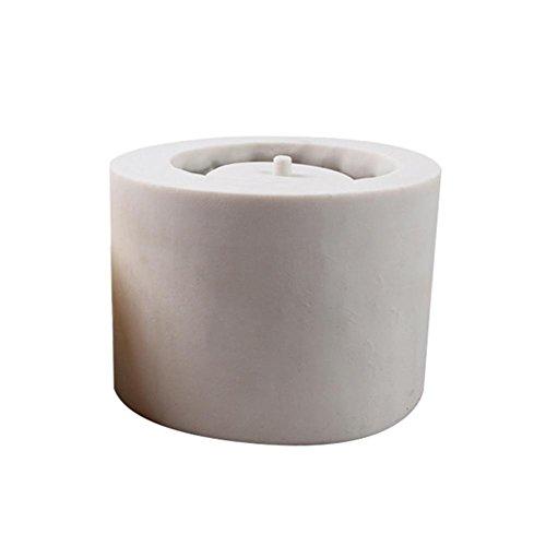 Seasaleshop Grijs DIY Gemaakt ambachtelijke decoratie keramische kleivormen voor cement planter beton bloempot siliconen vorm