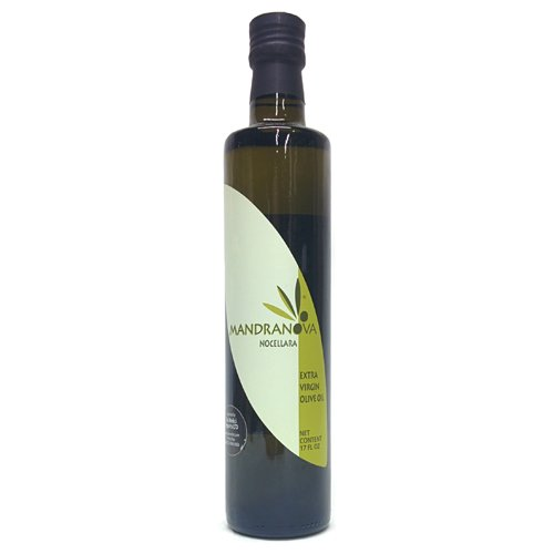 Mandranova Nocellara Italian Cold Extracted Extra Virgin Olive Oil | 2018 Harvest | 500ml (16.9 oz)...