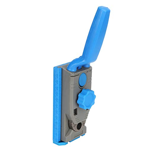 Diseño preciso y razonable Juego de plantillas de orificios de bolsillo seguros Kit de localizador de carpintería Durable para ahorrar tiempo y energía