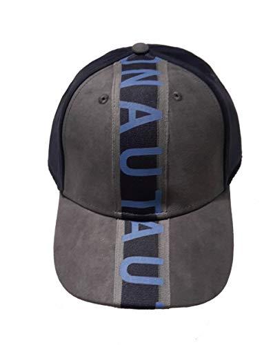 Aeronáutica Militar sombrero de béisbol HA1019 90735 gris-azul, terciopelo, gorro, flechas tricolores, polo, camiseta, gorro