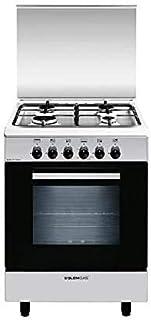 Glemgas 60 x 60 cm 4 Burners Gas Cooker & Gas Oven Model - AL6611GI 1 Year Full Warranty.