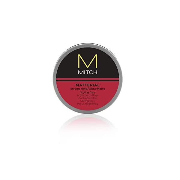 Beauty Shopping MITCH Matterial Hair Clay for Men, Strong Hold, Ultra-Matte Finish,