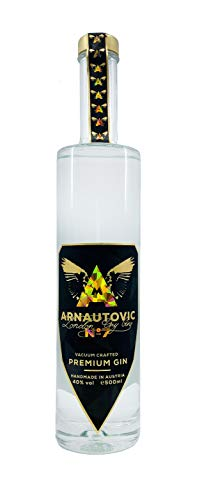 Arnautovic Gin London Dry Premium Gin No. 7 (1 x 0.5 l)