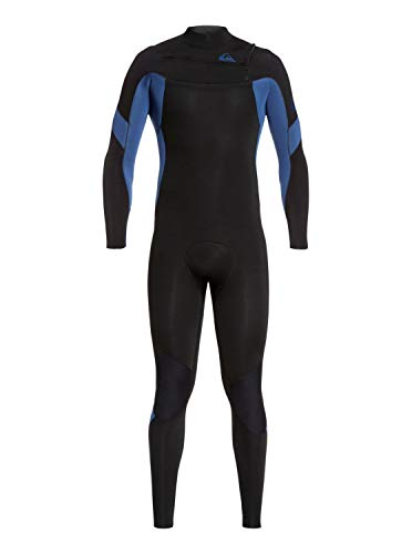 Quiksilver - Traje de Surf con Cremallera en el Pecho - Hombre - S - Negro