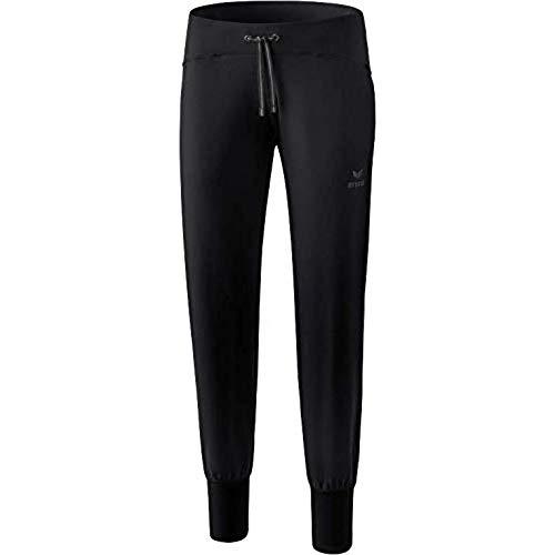 ERIMA Damen Hose Yogahose, schwarz, 42, 2101801