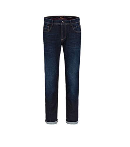 Camel Active Herren Straight Jeans, Blau (Dark Blue 46), 34W / 36L