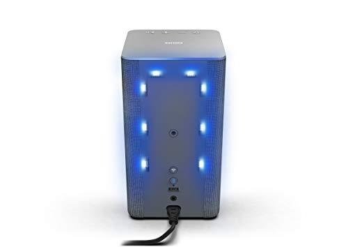 Philips W6205/10 WLAN Lautsprecher Multiroom-Audio für Zuhause kabellos (40 W, Kompatibel mit DTS Play-Fi, Verbindung mit Sprachassistenten, Integrierte LED, Ambilight, Stereoklang) - 2020/2021 Modell