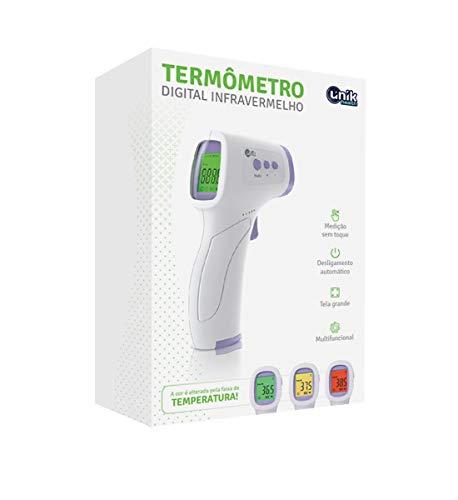 Termômetro Digital Infravermelho Multifuncional Medir Temperatura Corporal e Superfícies