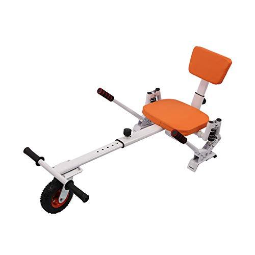 YAHAO Silla para Hoverboard Hoverkart Asiento Ajustable para Patinete Eléctrico Asiento Kart...