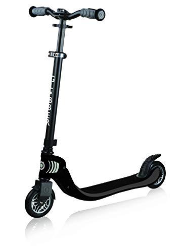GLOBBER グロッバー キックボード 大人用 子供用 大人も子供も乗れる 持ち運び便利 折り畳み式 家族で遊ぶ キック スクーター フロー/フォールダブル ブラック WLGB473120