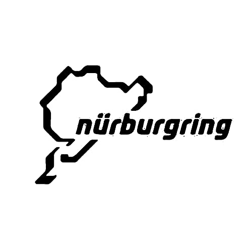 A/X Racing Track Nurburgring Sticker Fun Car Window Sticker Most Dangerous Vinyl Accessories Product Movement
