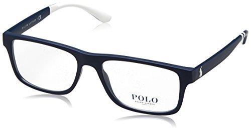Ralph Lauren Herren 0PH2182 Brillengestell, Mattes Marineblau, 54 EU