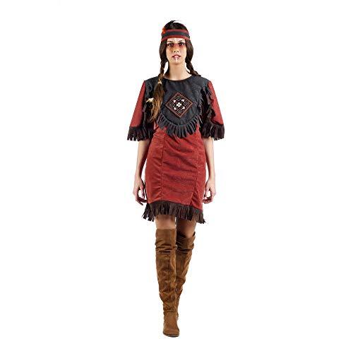 Limit Sport Indianerin Nscho-Tschi Damenkostüme Squaw Folklore Damen Kostüm