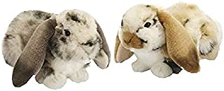 Plush Soft Toy Marble Lop Eared Rabbit. 30cm.