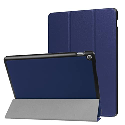 Tablet PC Bolsas Bandolera For ASUS zenpad 10 Z301ML / MFL/Zenpad 10 Z300 Tablet Funda Trifold Stand Lightweight Ordenador Personal Cubierta de Espalda Dura con tríptico y Despertar automático, Dorm