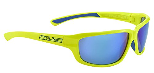 Salice 001RW, Occhiale Sole SR Unisex-Adulto, Giallo/RW Blu