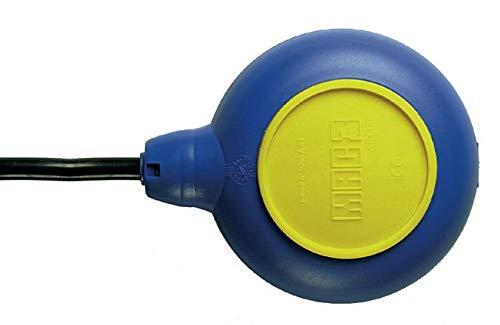 Regolatore di livello | interruttore a galleggiante per pompa, con contrappeso - Mod. MAC3 (5 mt)