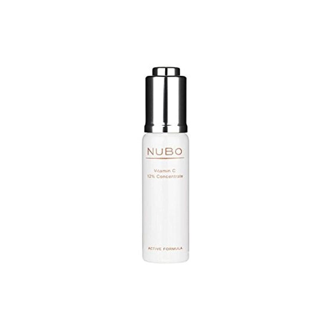 倍率噴水知るビタミン 12%の濃縮物(15ミリリットル) x4 - Nubo Vitamin C 12% Concentrate (15ml) (Pack of 4) [並行輸入品]