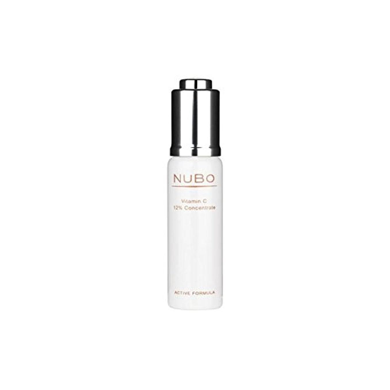 関与する半導体壮大ビタミン 12%の濃縮物(15ミリリットル) x4 - Nubo Vitamin C 12% Concentrate (15ml) (Pack of 4) [並行輸入品]
